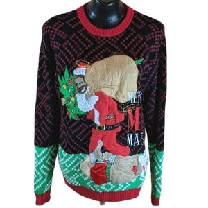 United States Sweaters Ugly Christmas Sweater SZ L